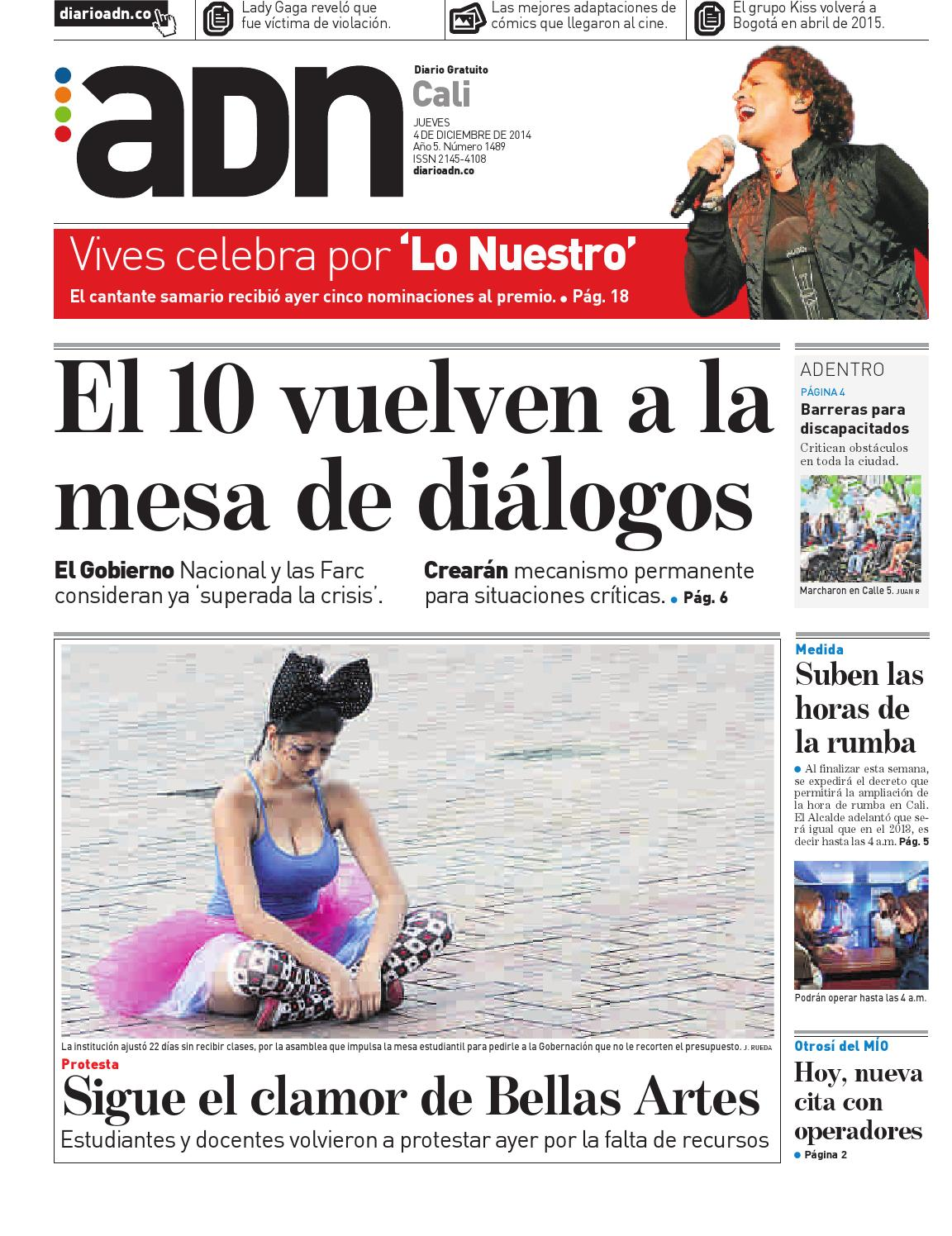4 de diciembre Cali by Diario ADN - issuu
