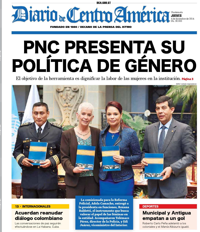Diario de Centro América 4 de diciembre de 2014 by Diario de Centro ...