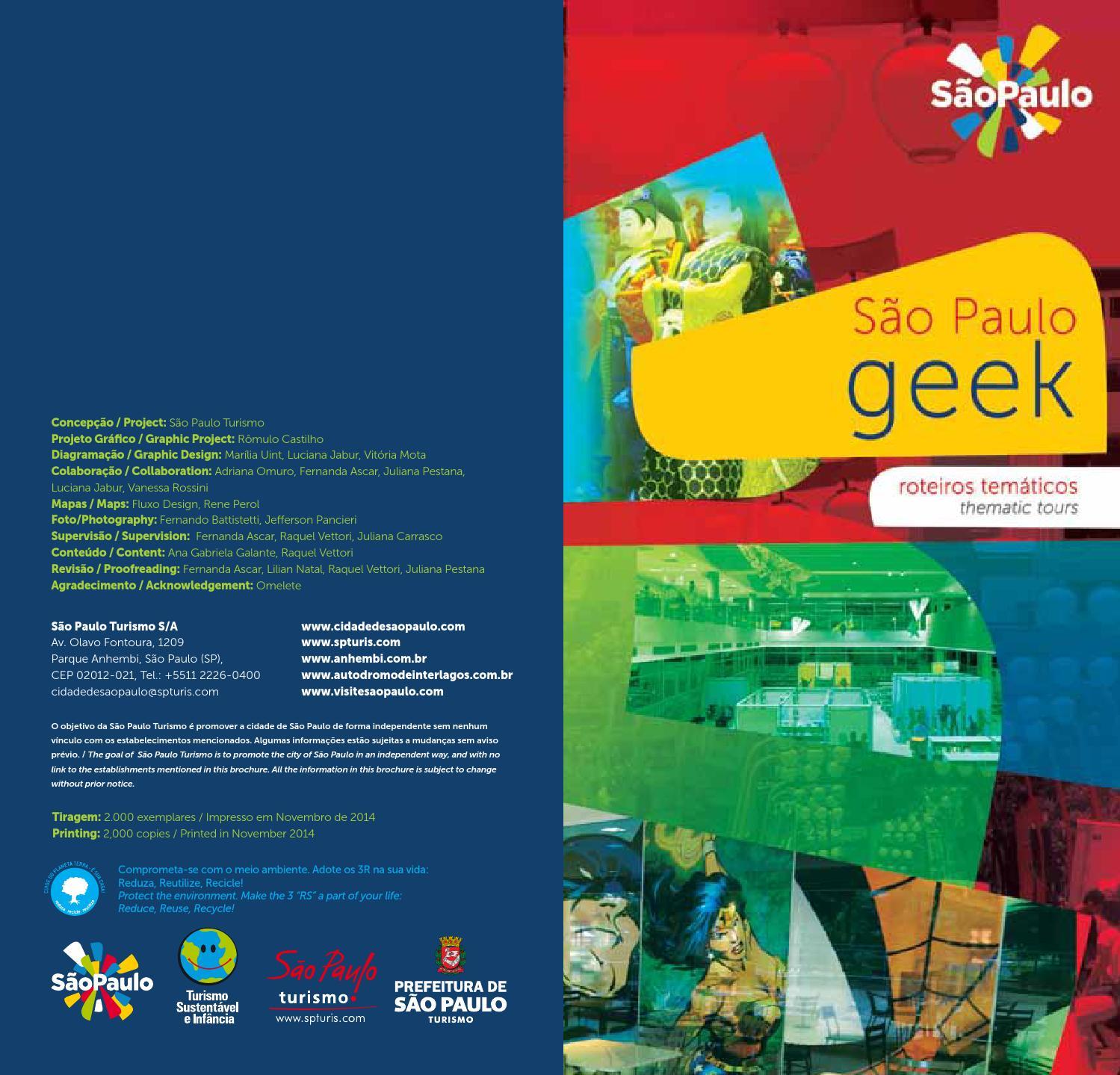Roteiro Geek by São Paulo Turismo - issuu 593b4f93b98