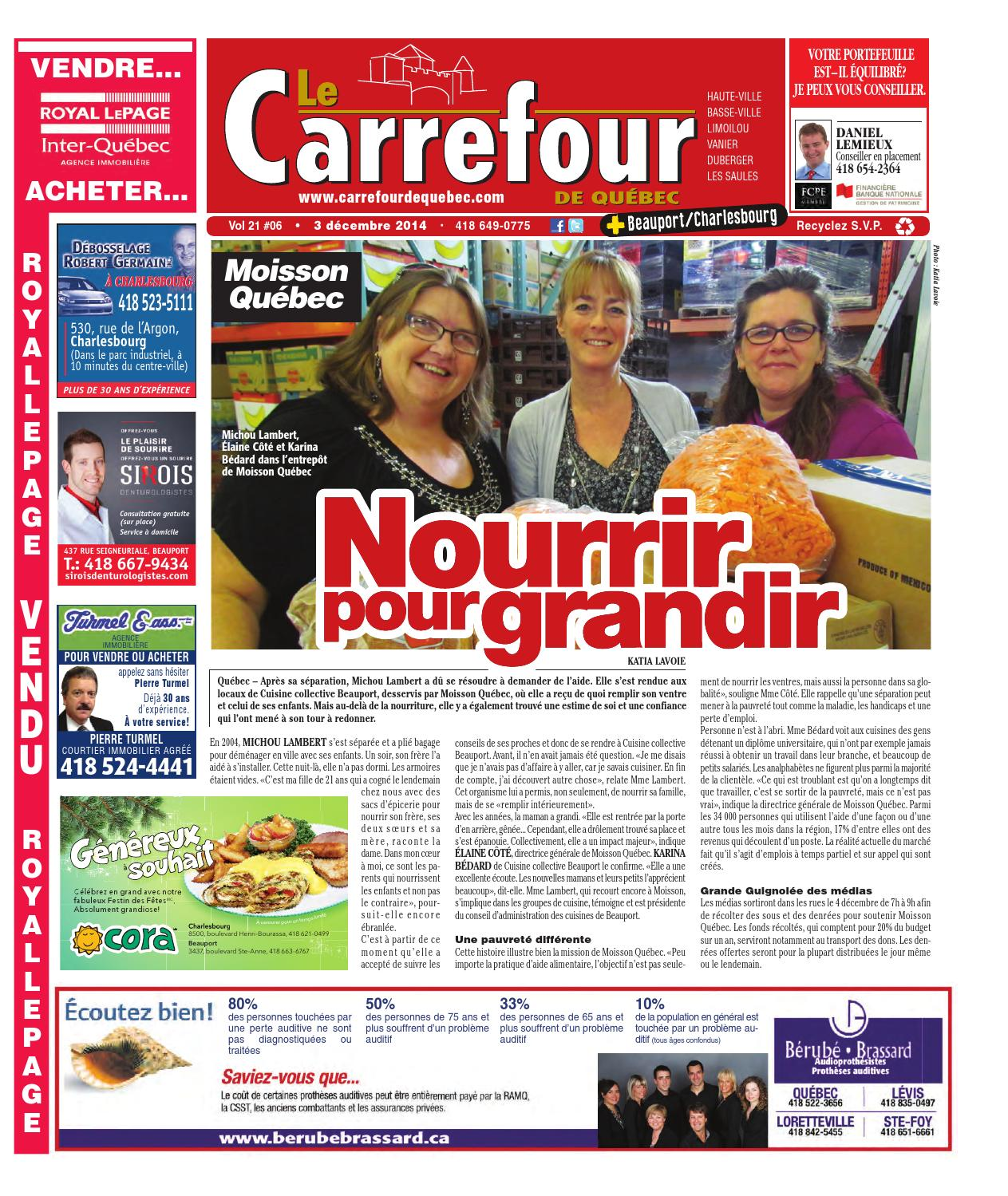 Le Carrefour Québeccharlesbourg Et Beauport By Redaction Issuu