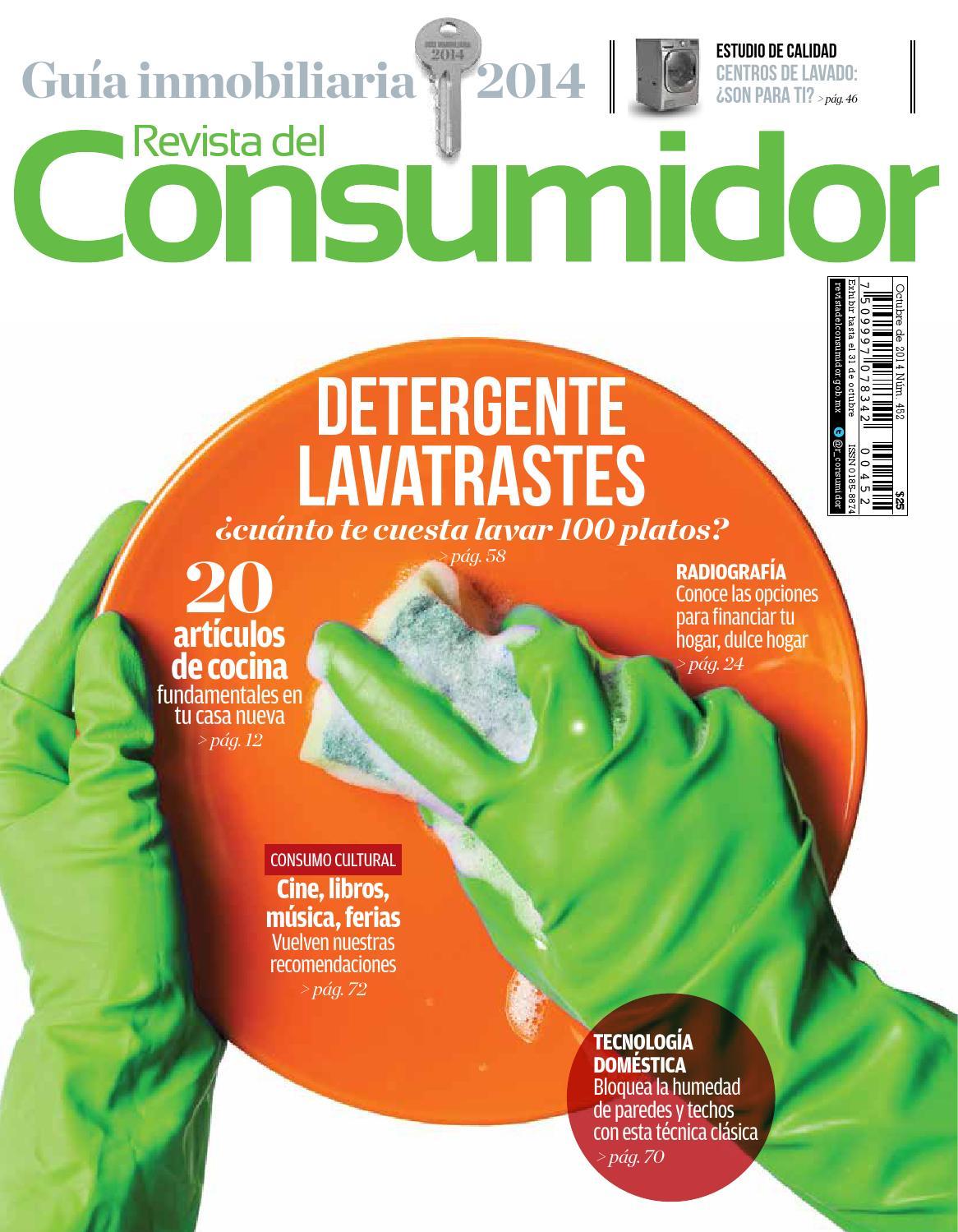 Revista del Consumidor 2014 octubre Ed. 452 by PROFECO - issuu
