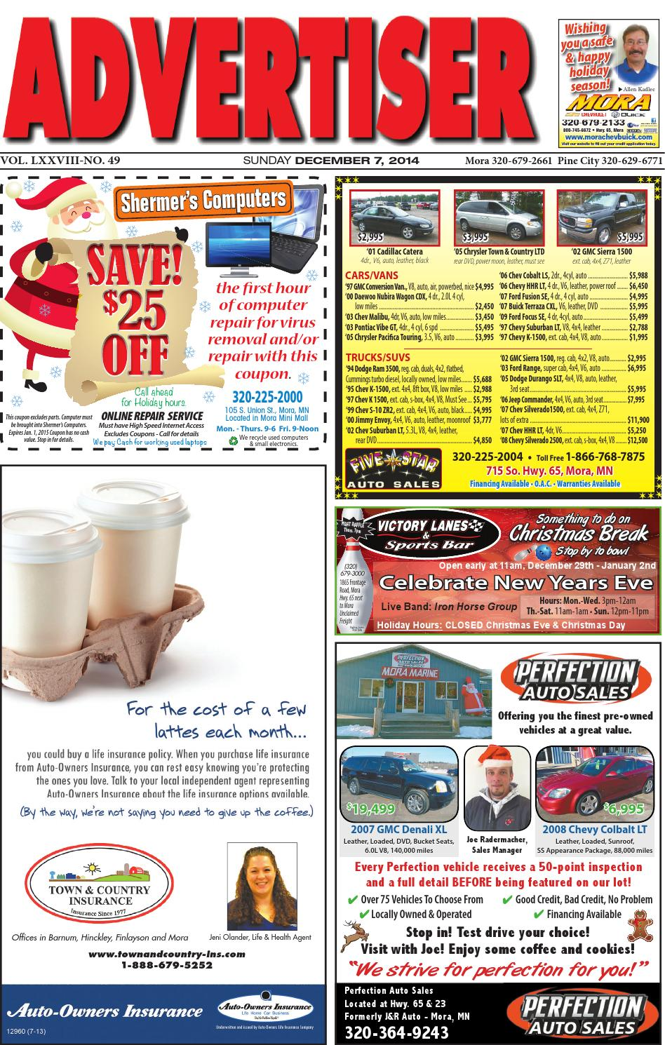 mora advertiser 12714 by kanabec county times pine city pioneer issuu rh issuu com