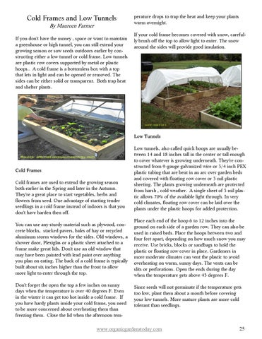 OGT Winter 2015 by Organic Gardens Today - issuu
