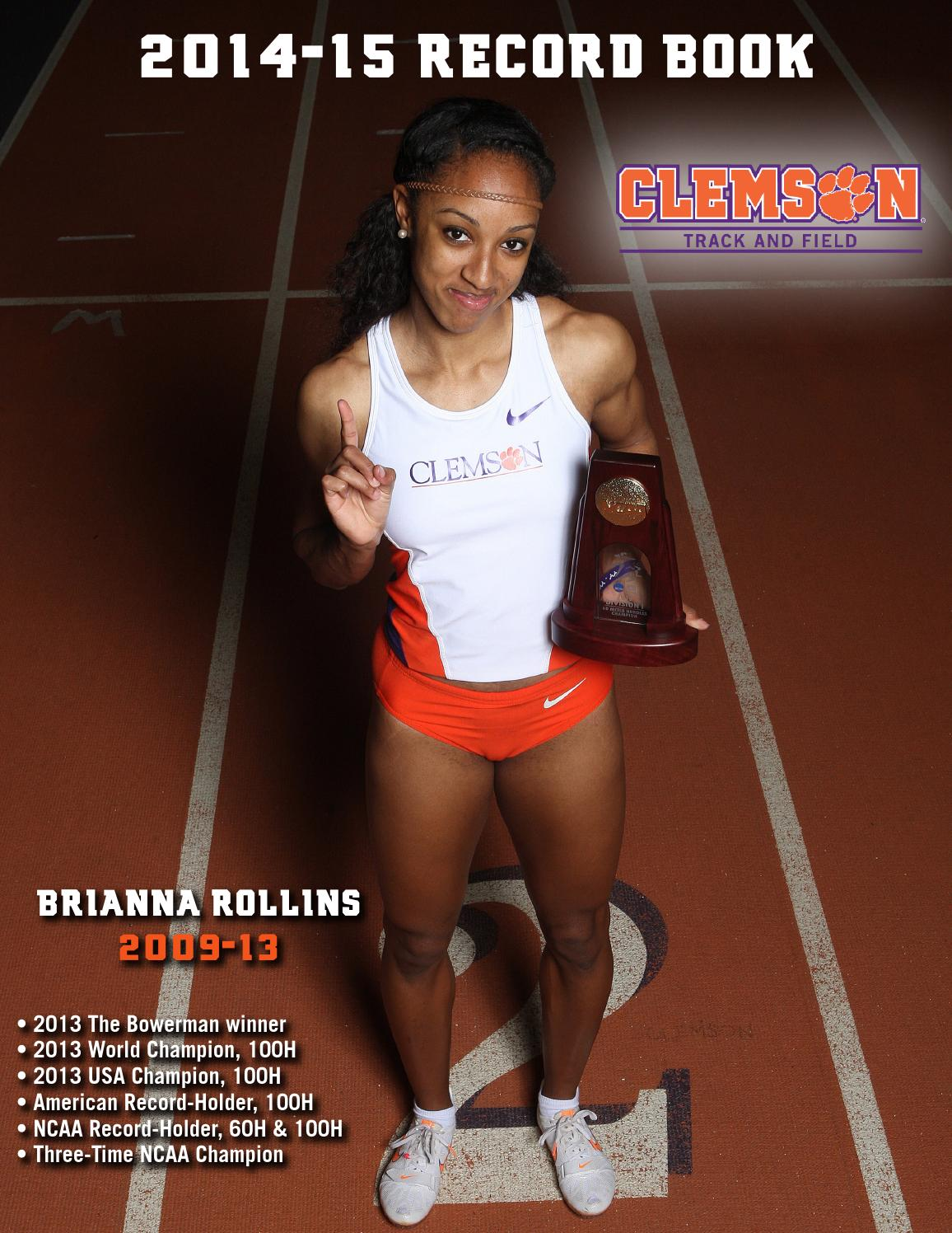 2014 15 Clemson Track & Field Record Book by Clemson Tigers - issuu
