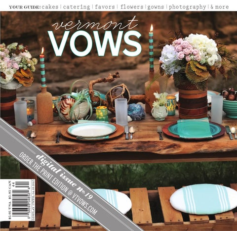 0641fc71b41 Vermont Vows  Issue No. 19  by Vermont Vows and WellWed Magazines ...