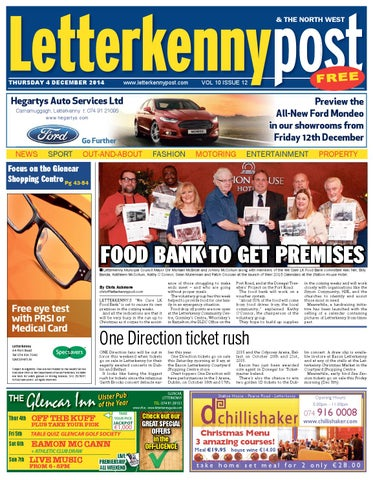 4 December 2014 Letterkenny Post by River Media Newspapers - issuu d3fa8d826d0