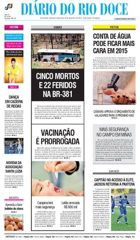 Diário do Rio Doce - Edição de 05 12 2014 by Diário do Rio Doce - issuu 22bd52b08991b