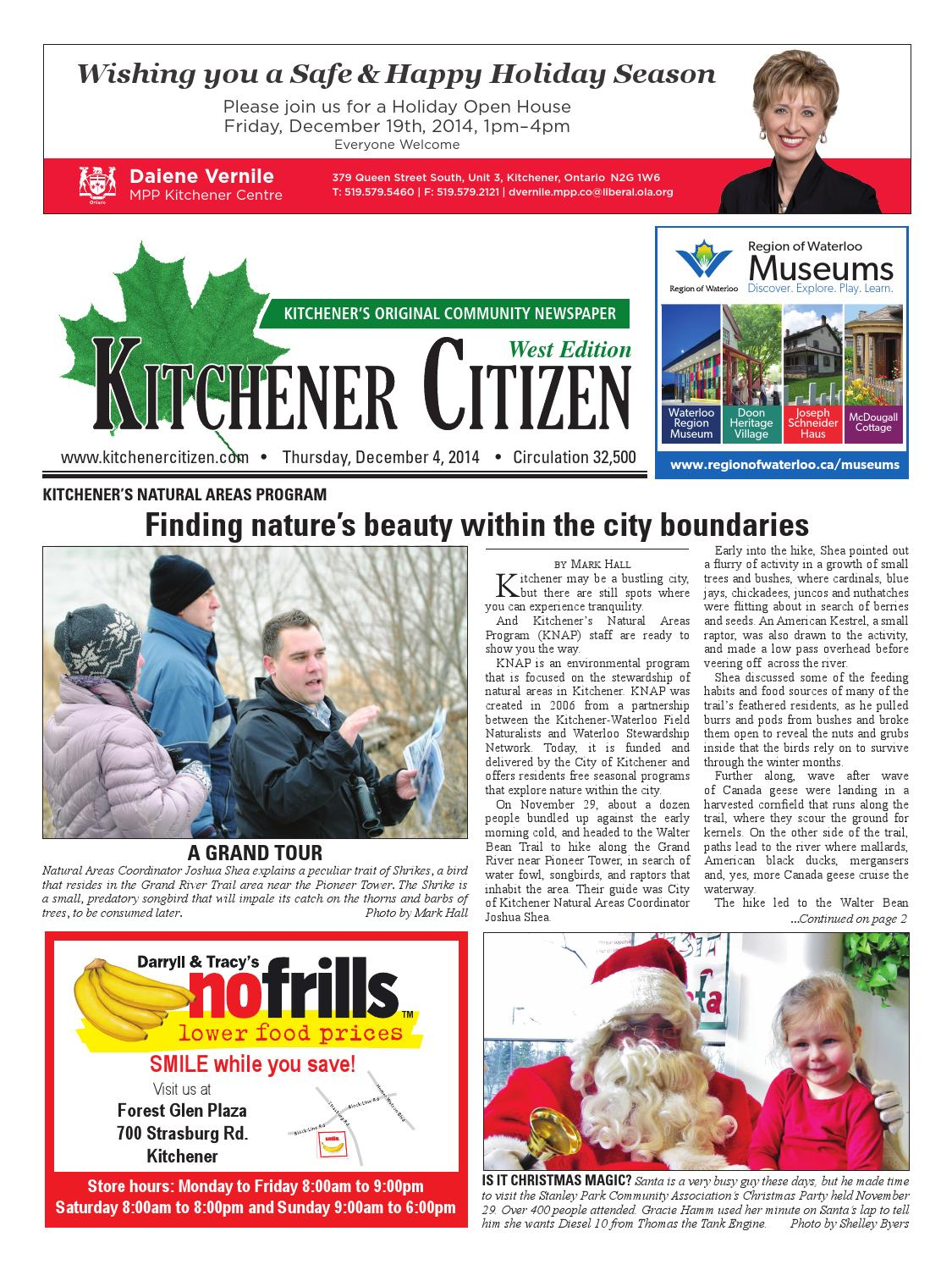 Kitchener Citizen - West Edition - December 2014 by Kitchener ...