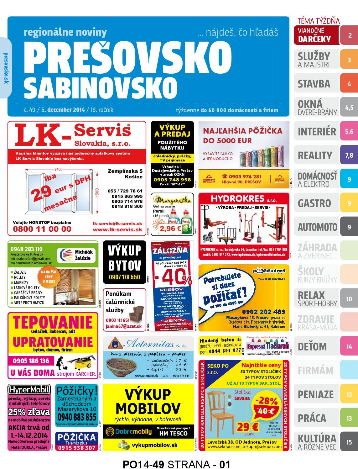 f326894ac Presovsko c. 49/2014 by presovsko presovsko - issuu