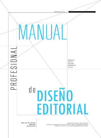 Manual Dise O Editorial By Rene O Davila Issuu