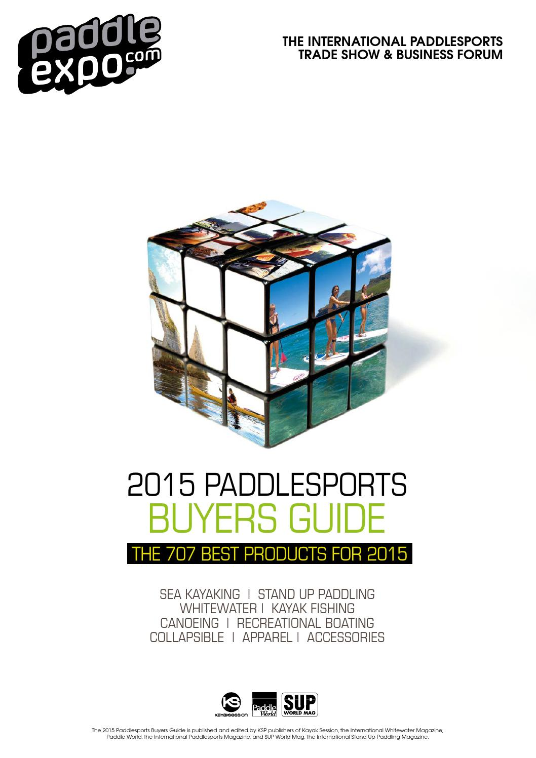 2015 Paddlesports Buyers Guide By Padl Issuu Spacer Gear Duralium Klx Dtracker