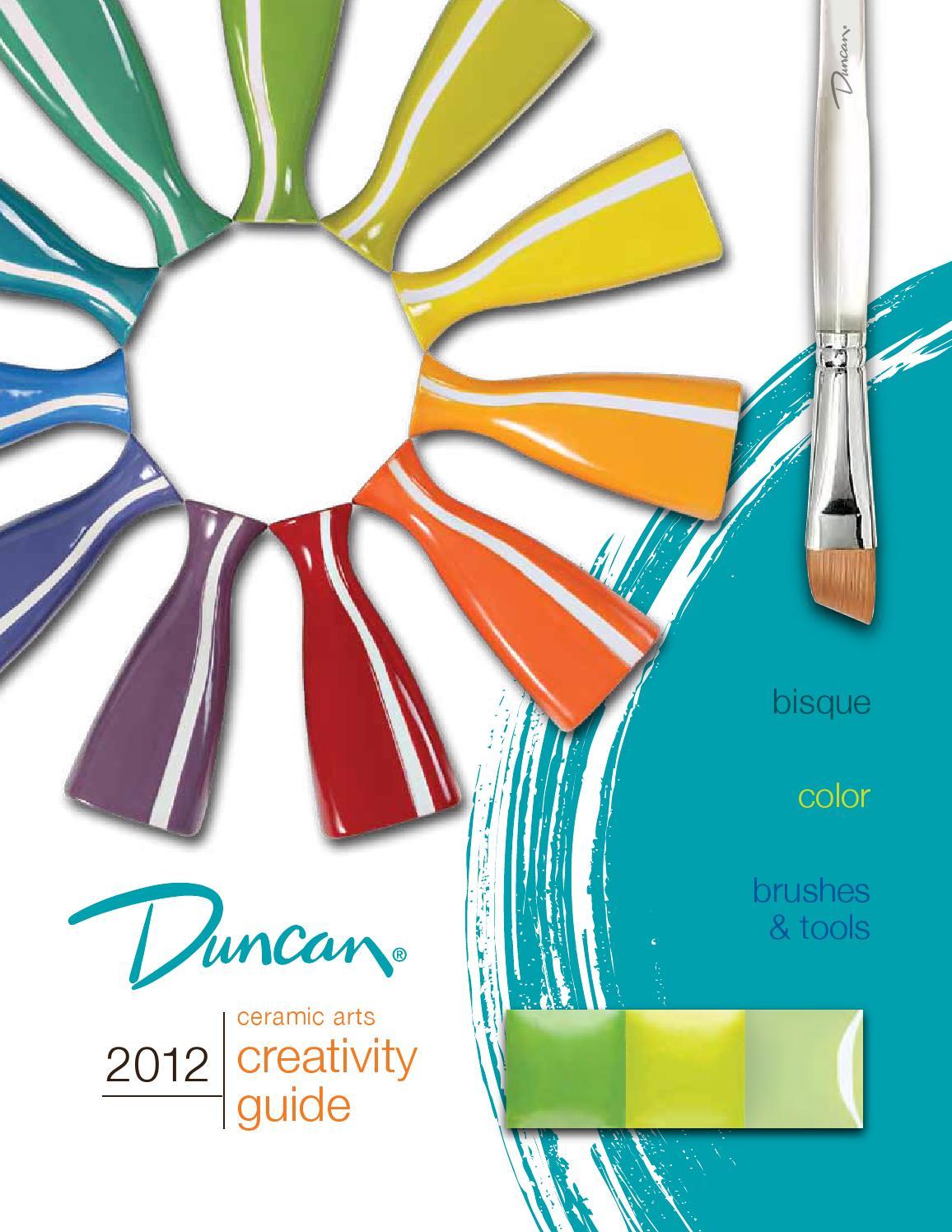 IN 1212 Duncan Envision Glazes 4 Ounce Jar Cobalt Blue Sprinkles