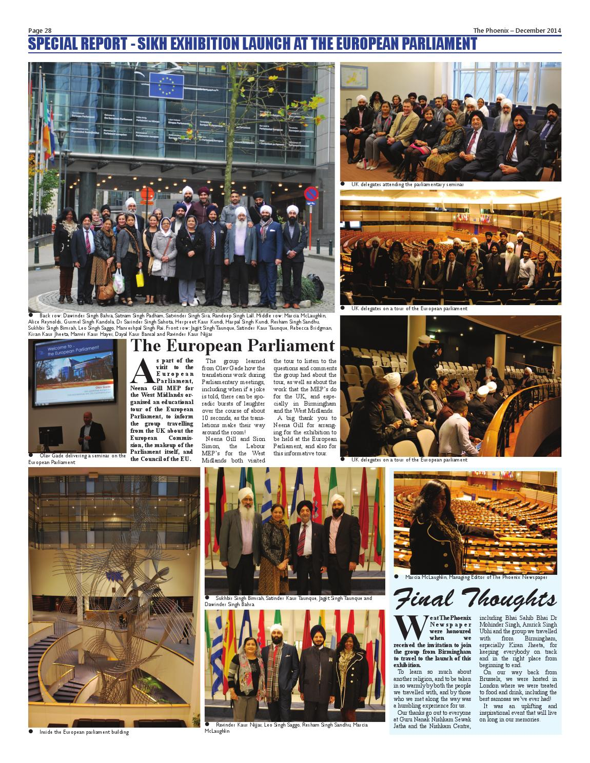 The Phoenix Newspaper - December 2014 by The Phoenix