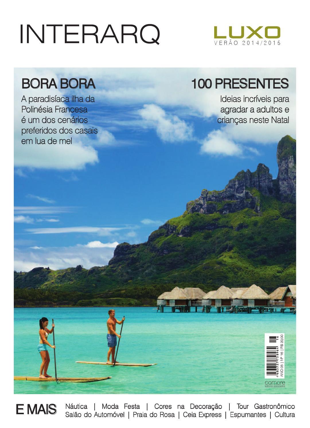 Revista InterArq Luxo Verao 2014 2015 By Revista InterArq