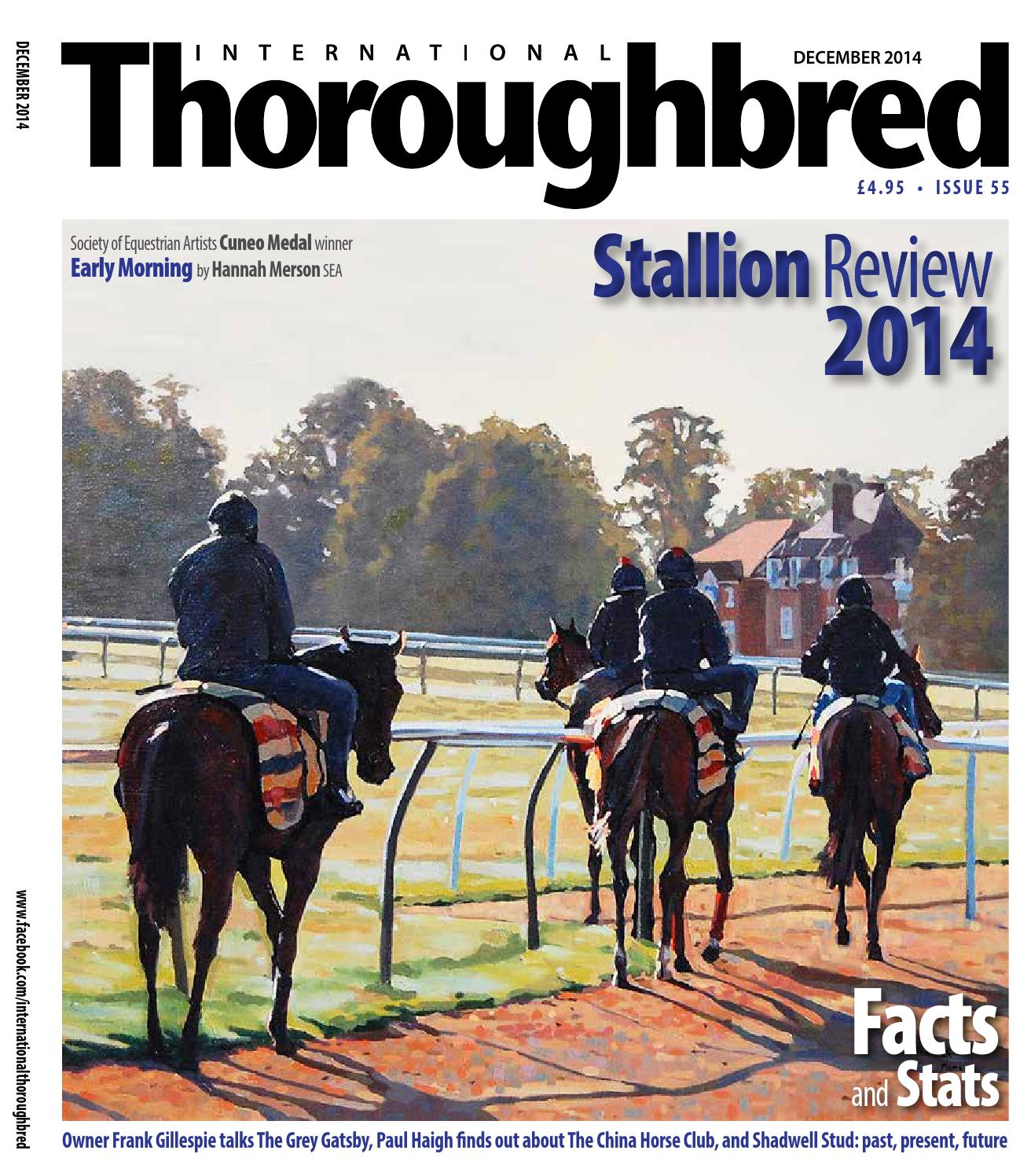 ca77bb4cd161d3 ITB December 2014 by Thoroughbred Publishing - issuu