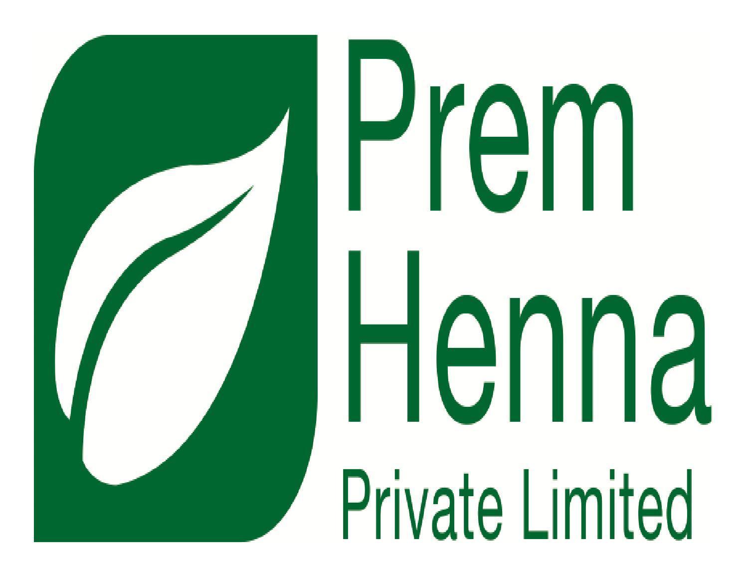 335e64945 Prem Henna Pvt. Ltd. Henna Manufacturer India by Prem Henna Pvt. Ltd. -  issuu