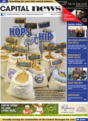 Kelowna Capital News, December 05, 2014 by Black Press Media