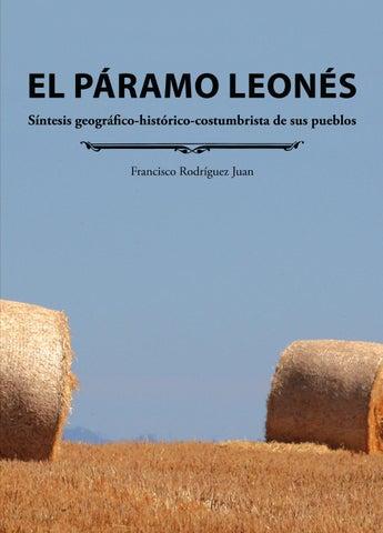 EL PÁRAMO LEONÉS. Síntesis geográfico-histórico-costumbrista de sus ... f31ad244dad
