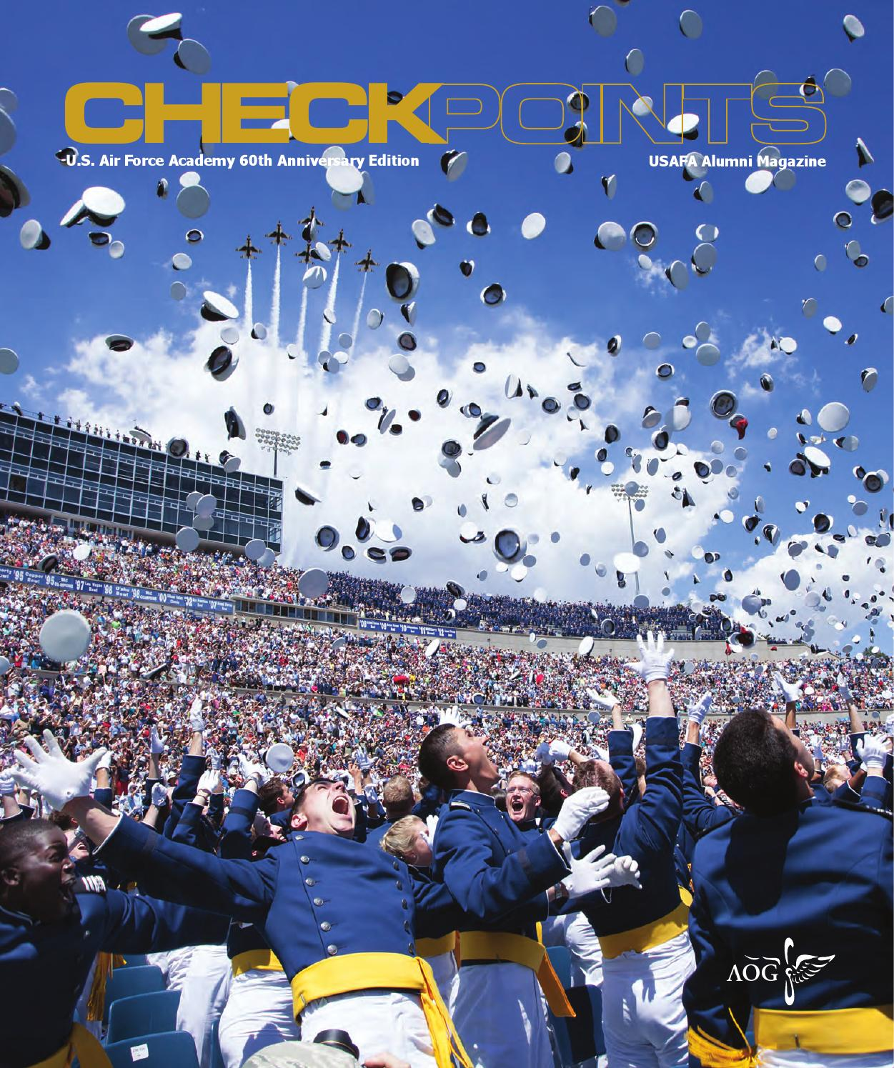 checkpoints - june 2014 (60th anniversary edition) by usafa
