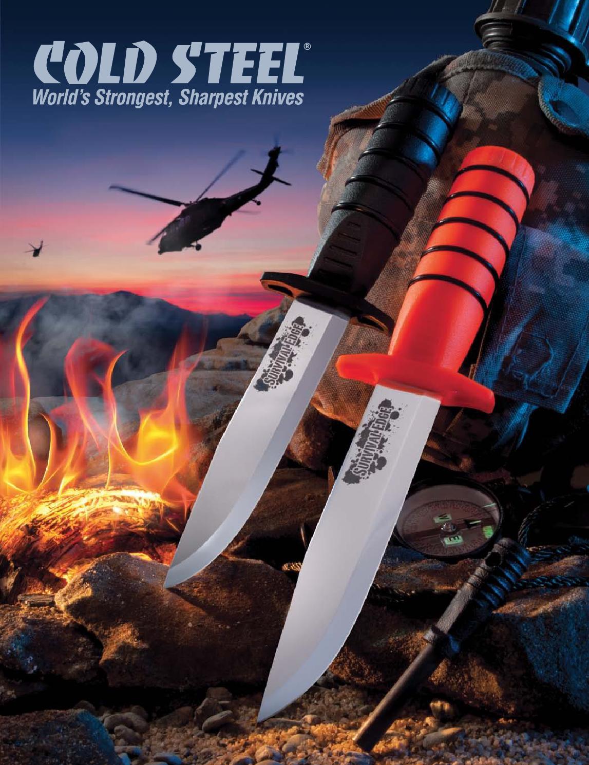 "Cold Steel 91WAS African Walking Stick High-Impact Polypropylene 37/"" Long"
