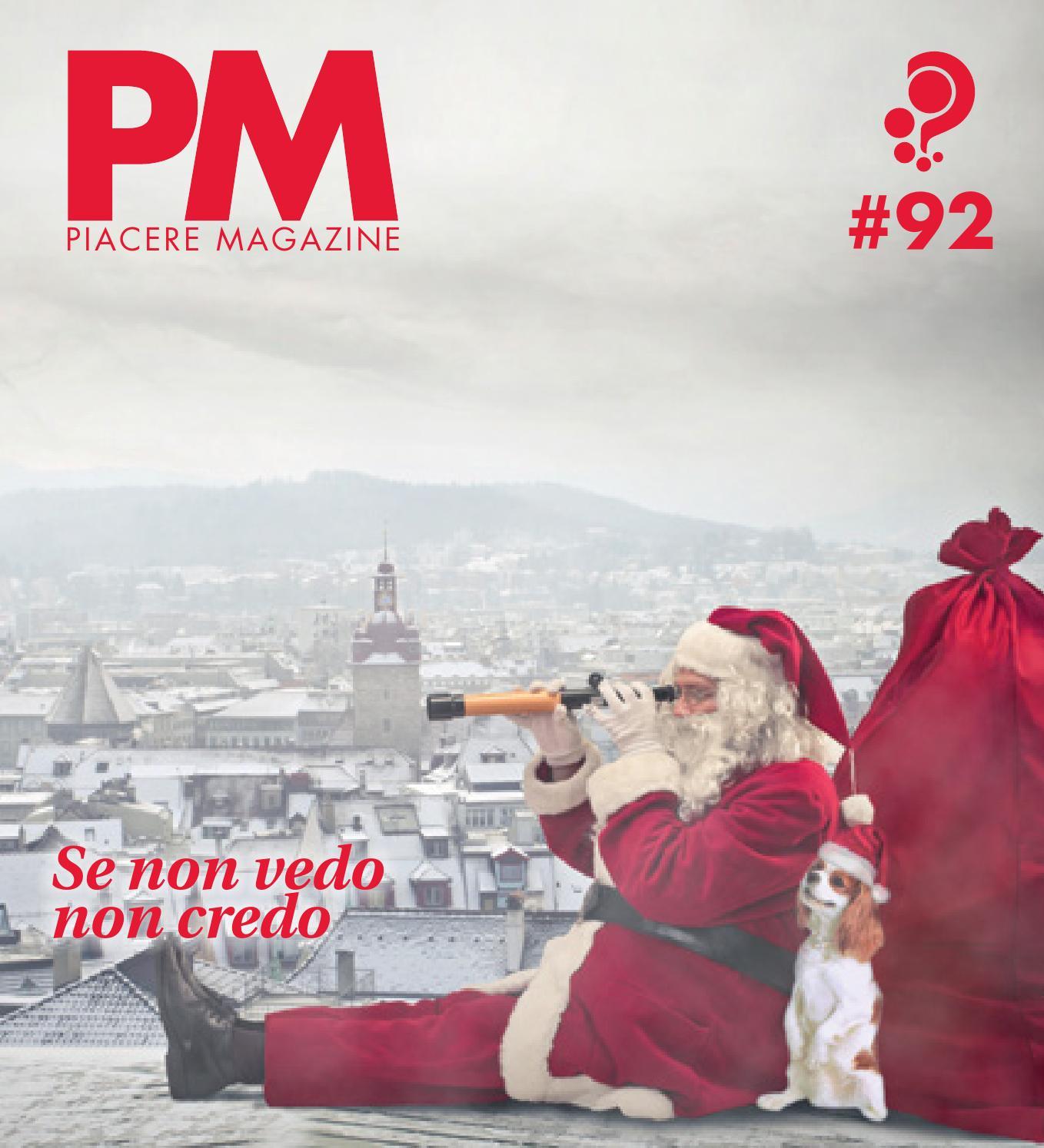 Piacere Magazine n.92 Dicembre 2014 Gennaio 2015 by PM