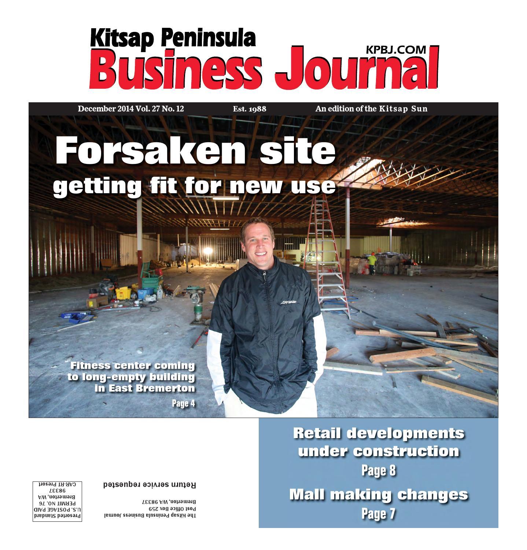 Kitsap Peninsula Business Journal December Edition by Kitsap Sun