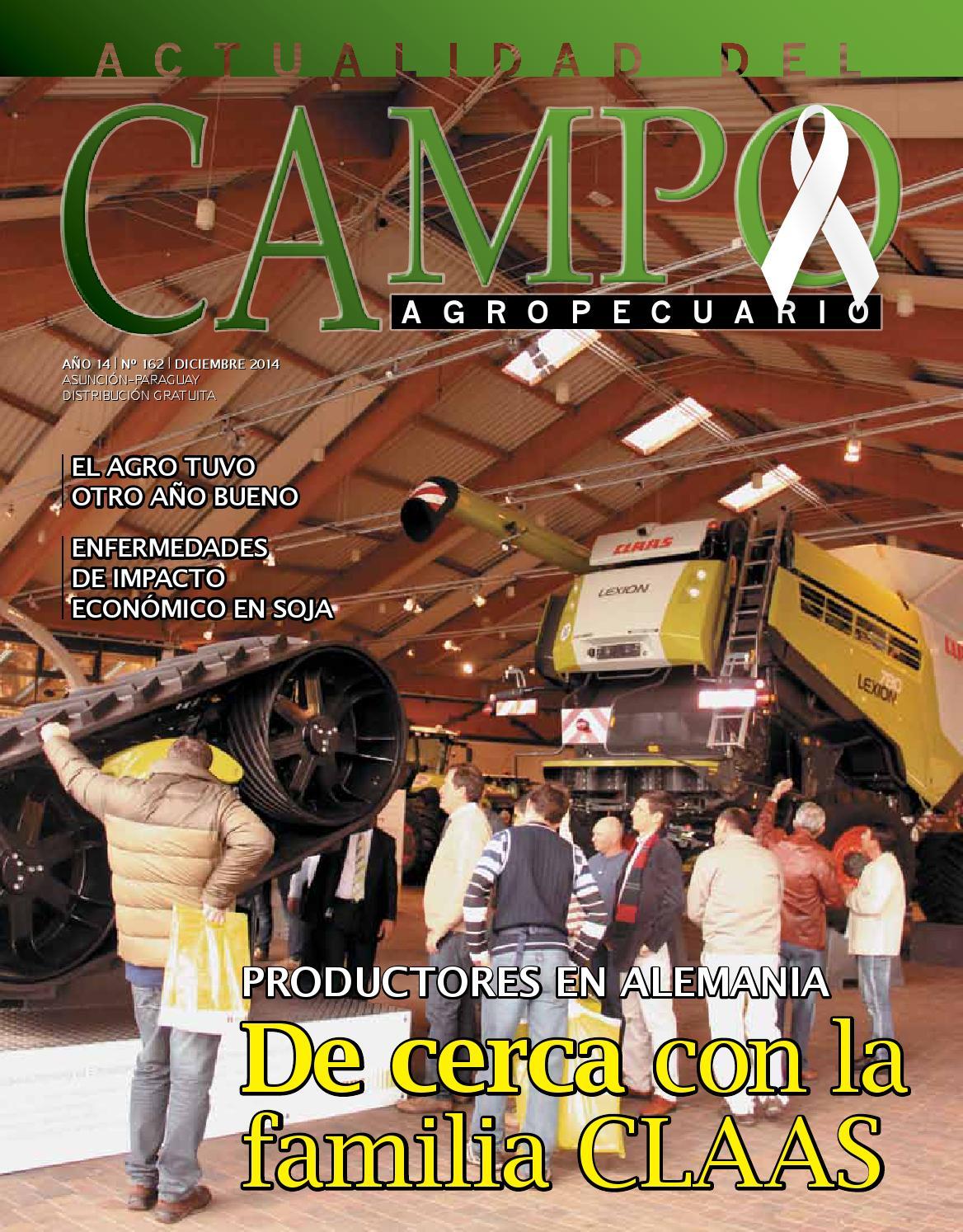 Actualidad del Campo Agropecuario, diciembre 2014 by Artemac. - issuu