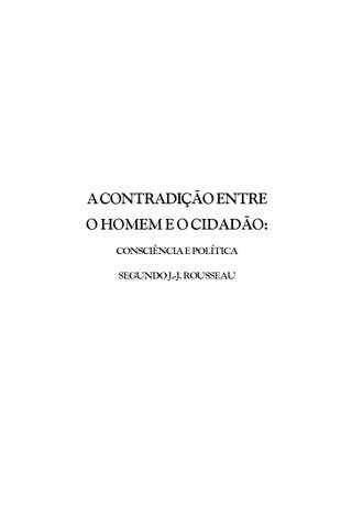 A contradicao entre o homem e o cidadao by faculdade apogeu issuu page 1 fandeluxe Gallery