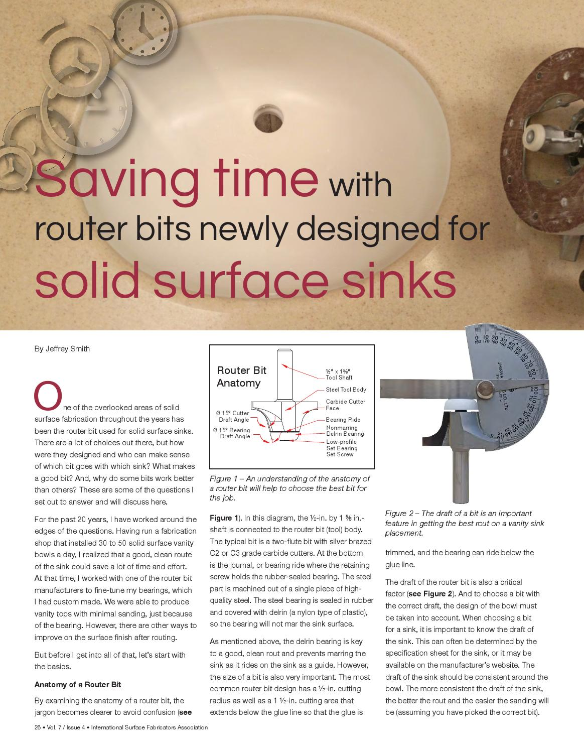 ISFA's Countertops & Architectural Surfaces Vol  7, Issue 4