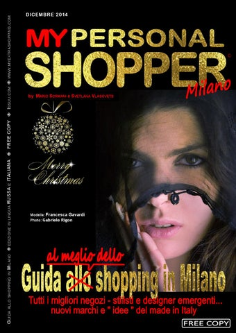 My Personal Shopper dicembre 2014 ed. Italiana by russiamediapress ... 810c205d6bf