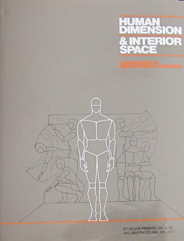 Human Dimension And Interior Space Pdf