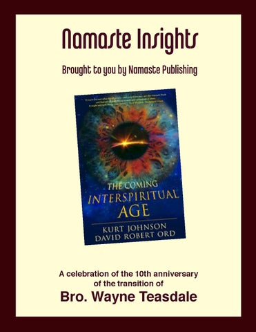 Namaste insights the coming interspiritual age special winter 2014 page 1 fandeluxe Images