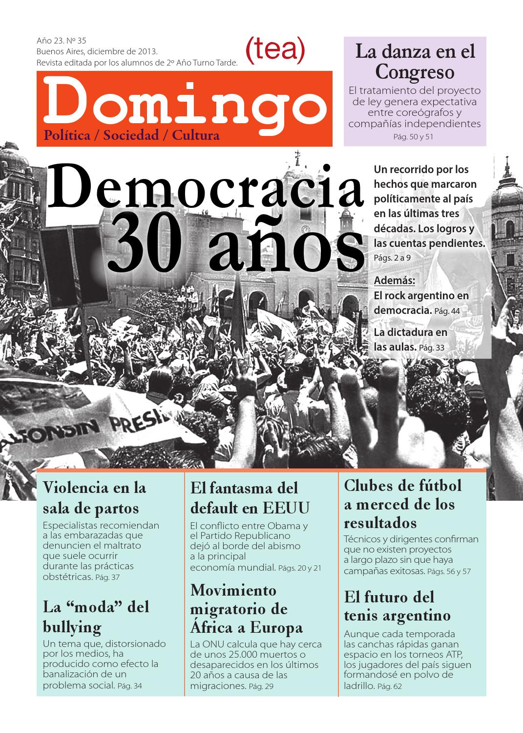 Domingo 35 - TEA by Tea y Deportea - issuu