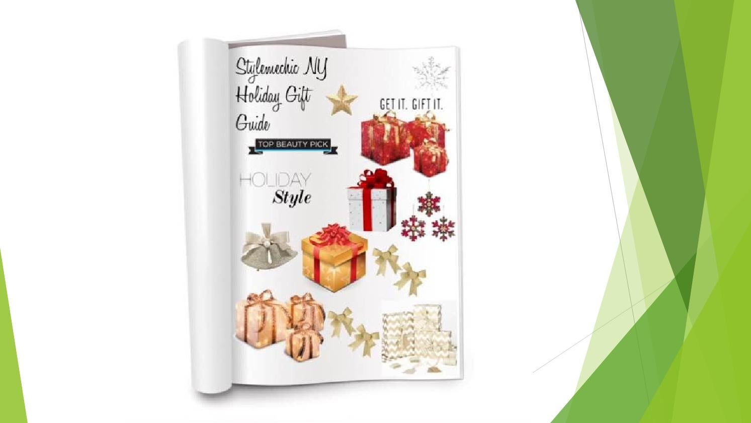 STYLEMECHIC NY HOLIDAY GIFT GUIDE