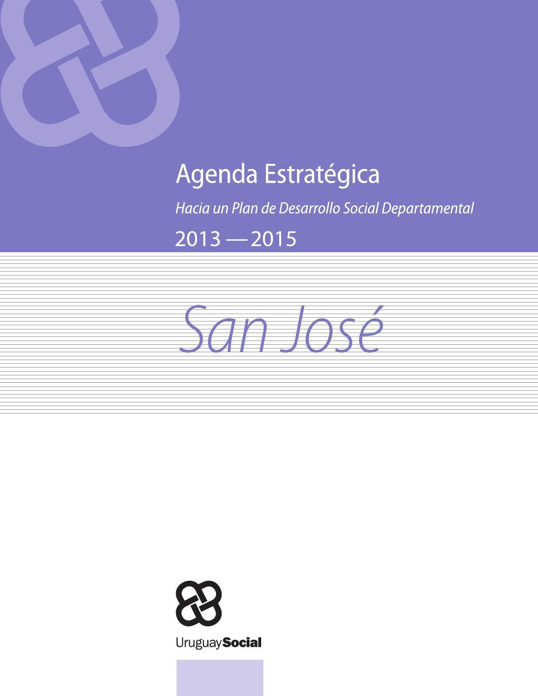 Agenda Estratégica De Desarrollo Social San José By