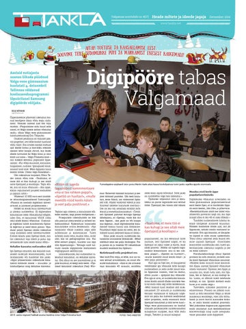 97b1b82d575 Noorteleht Tankla nr 17 (detsember 2014) by Valgamaa noorteleht ...