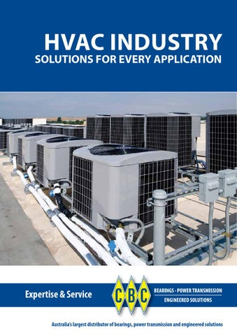 CBC HVAC - Heating Ventaliation Air Conditioning Industrial Guide by