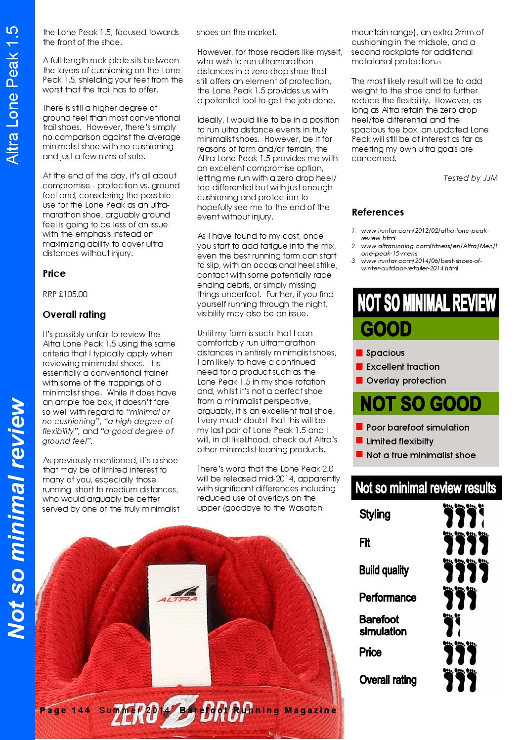 887945ab152b Barefoot Running Magazine - Issue 12 (Summer 2014) by Barefoot Running  Magazine - issuu