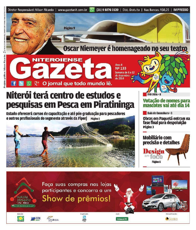 ab5f79dfca6 GAZETA NITEROIENSE • EDIÇÃO 133 by Gazeta Niteroiense - issuu