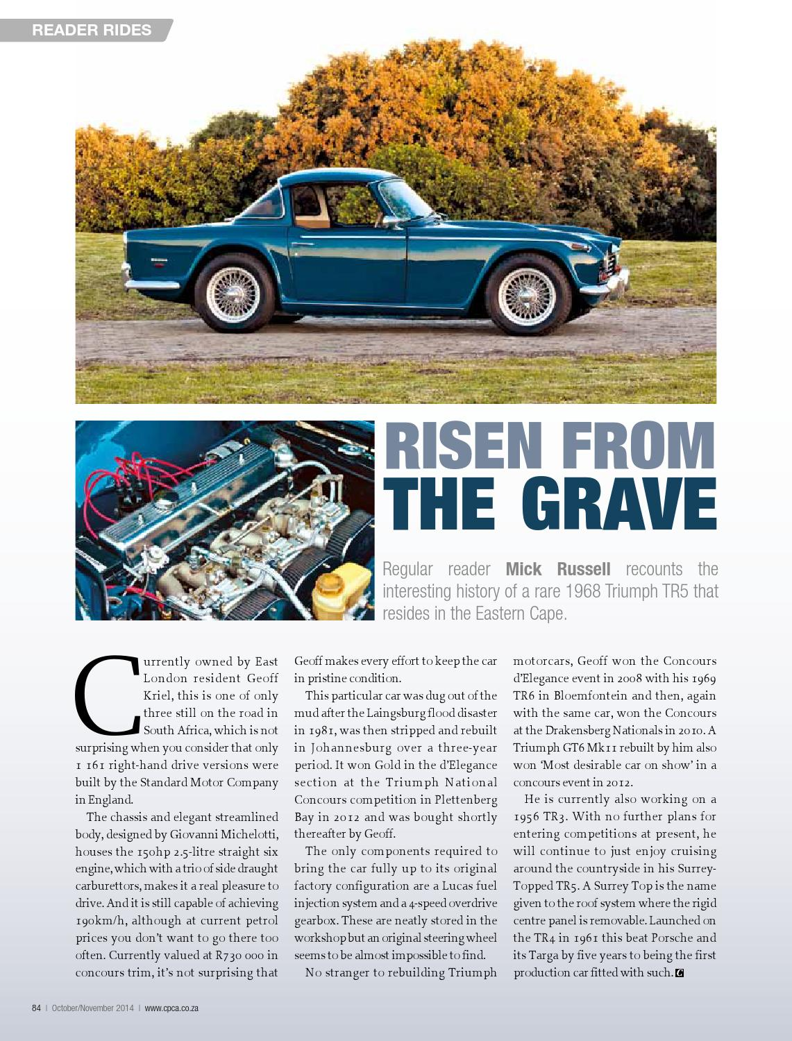 Classic & Performance Car Africa October/November 2014 by