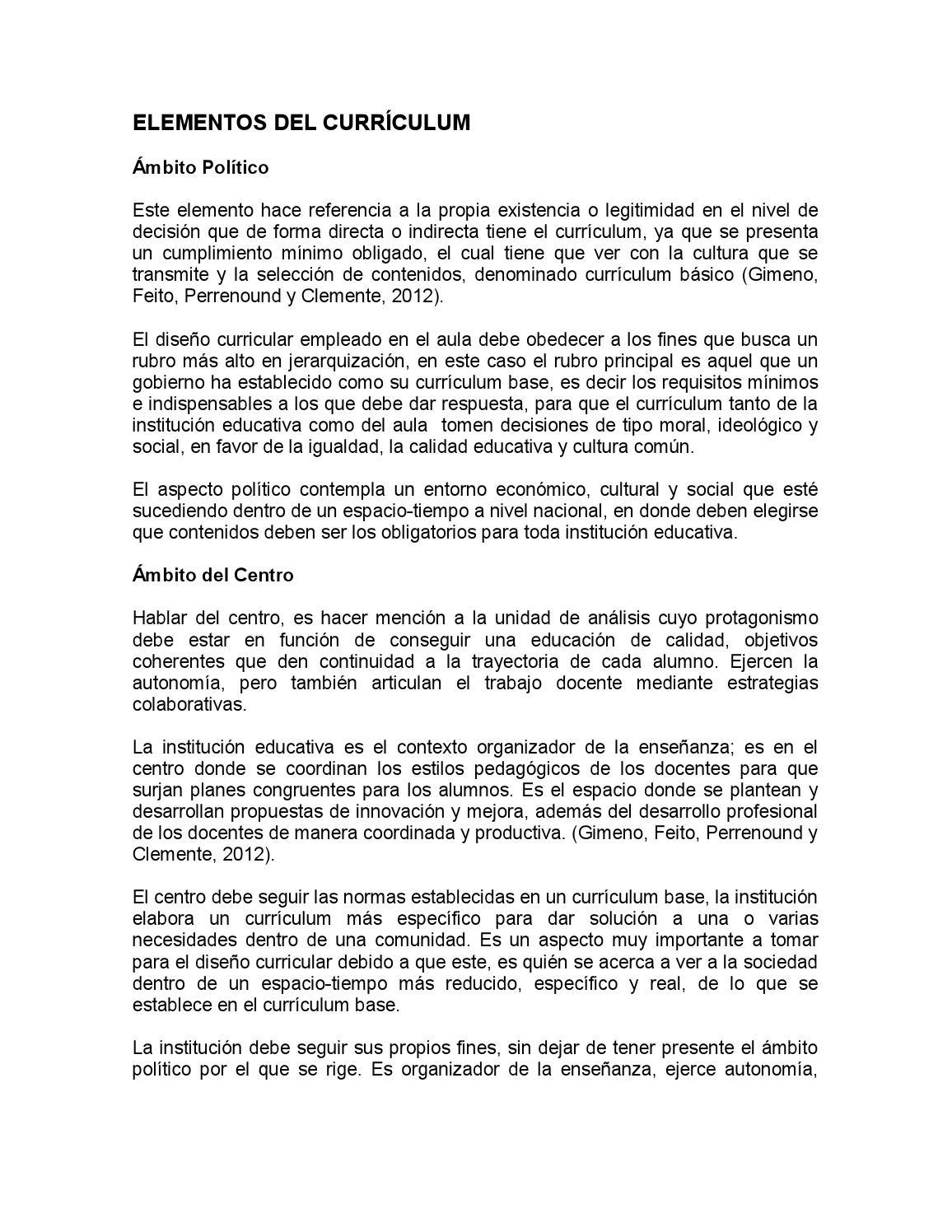 Elem del currículum by Isabel - issuu