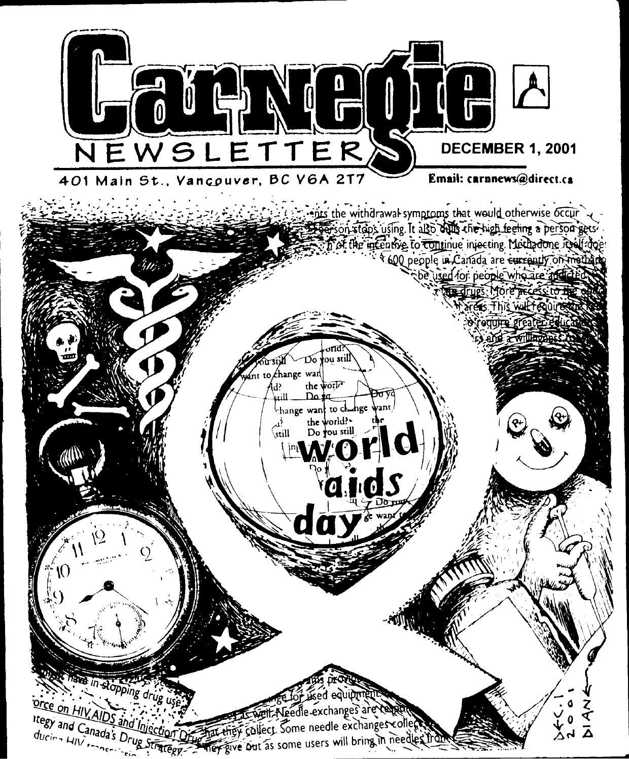 december 1 2001 carnegie newsletter by carnegie newsletter issuu Sample of Resume for Dancer