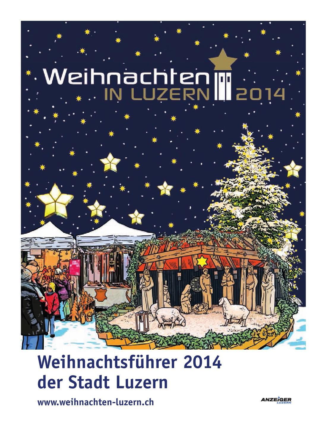 Weihnachten 2014 by Anzeiger-Luzern - issuu
