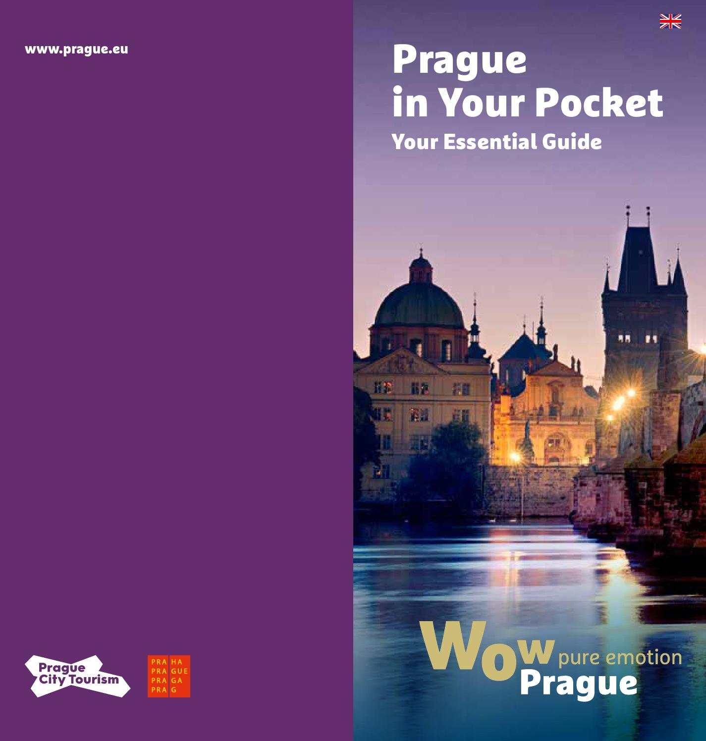 Prague in your pocket by Bookletia issuu