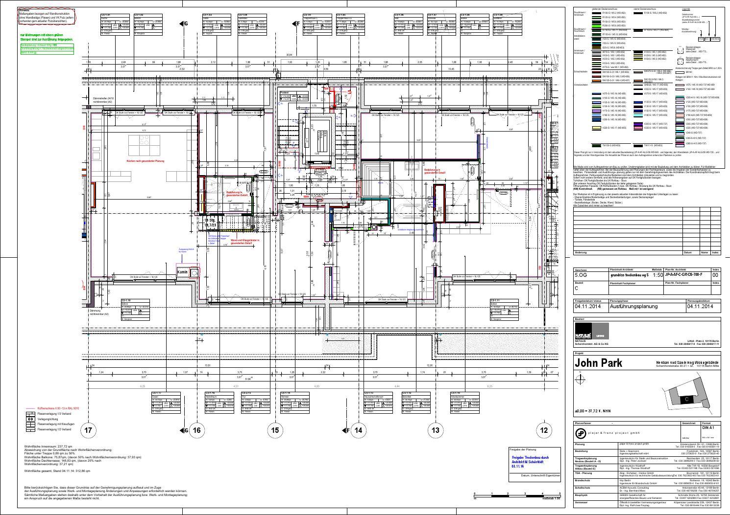 jp a af c gr o5 700 f 00 grundriss trockenbau og 5 bt c by natulis group ag issuu. Black Bedroom Furniture Sets. Home Design Ideas