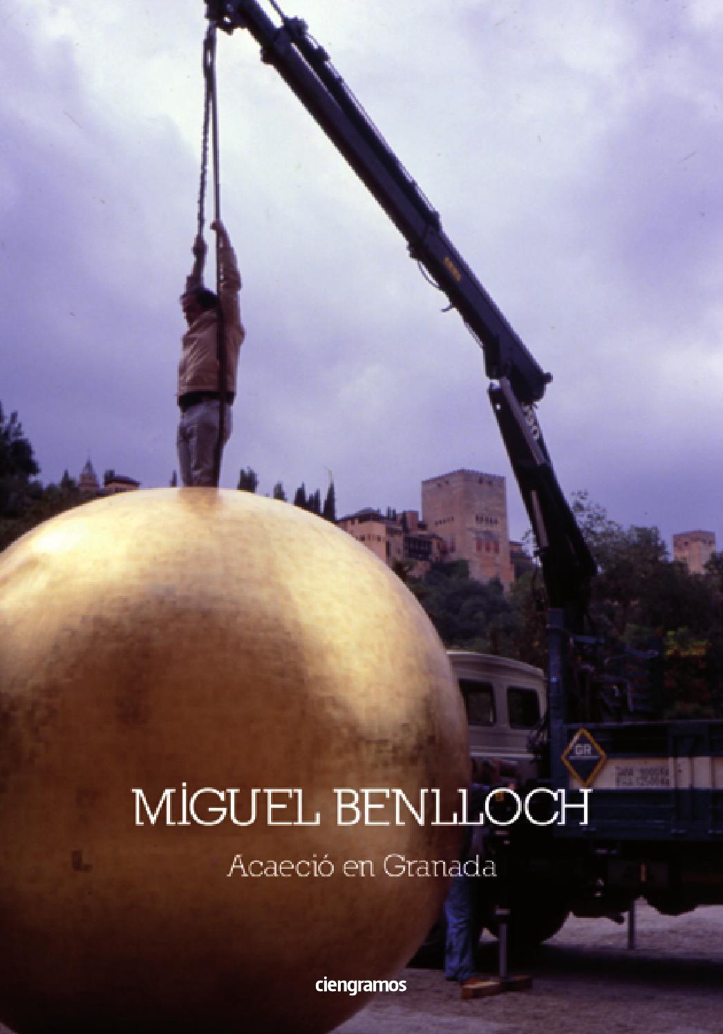 Miguel Benlloch Acaeci En Granada Ciengramos By Trn Ciengramos  # Cambalache Gaditano Muebles