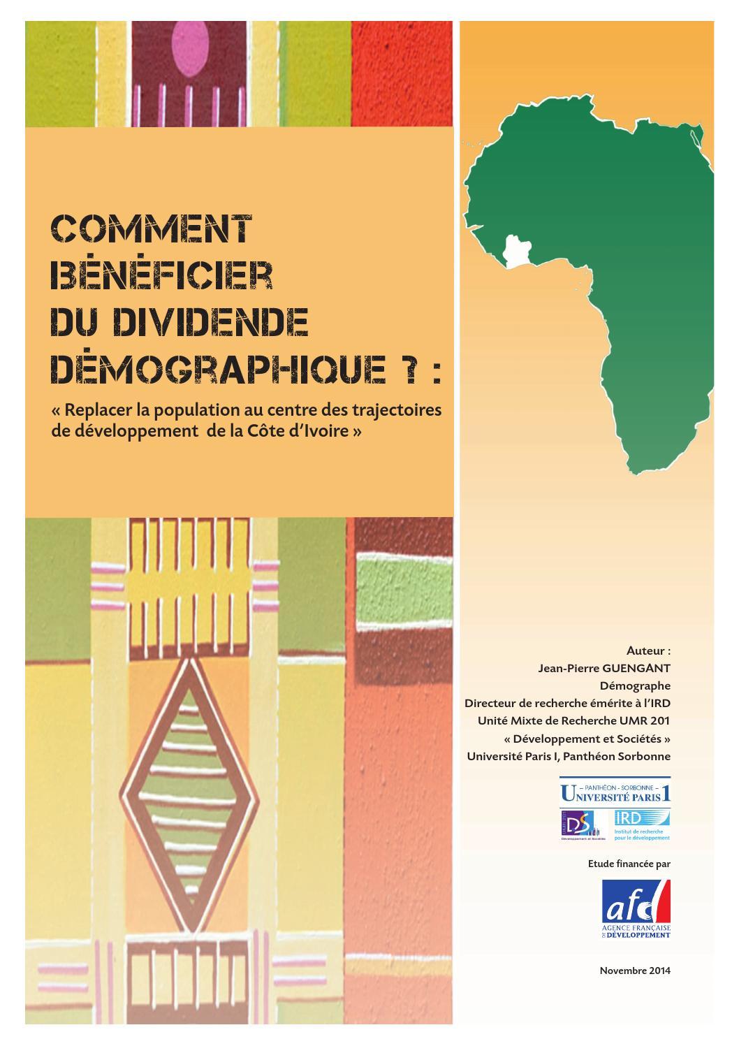 Comment bénéficier du dividende démographique ? by Agence
