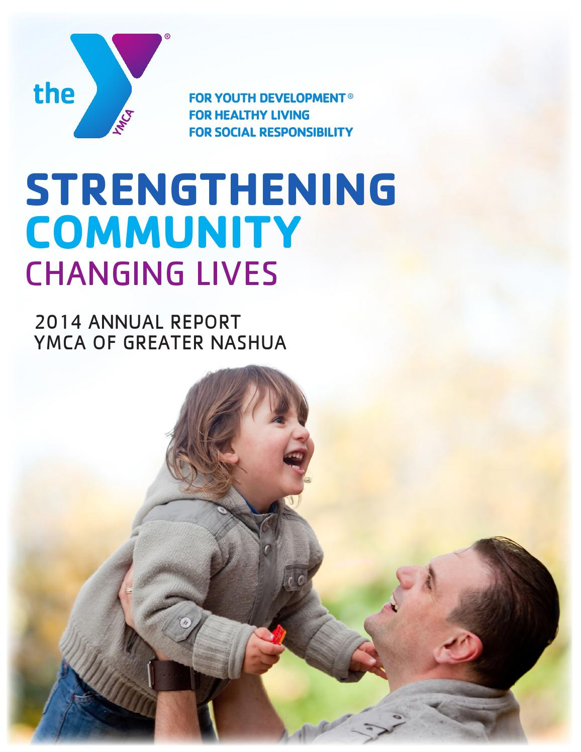 2014 annual report by YMCA of Greater Nashua - issuu