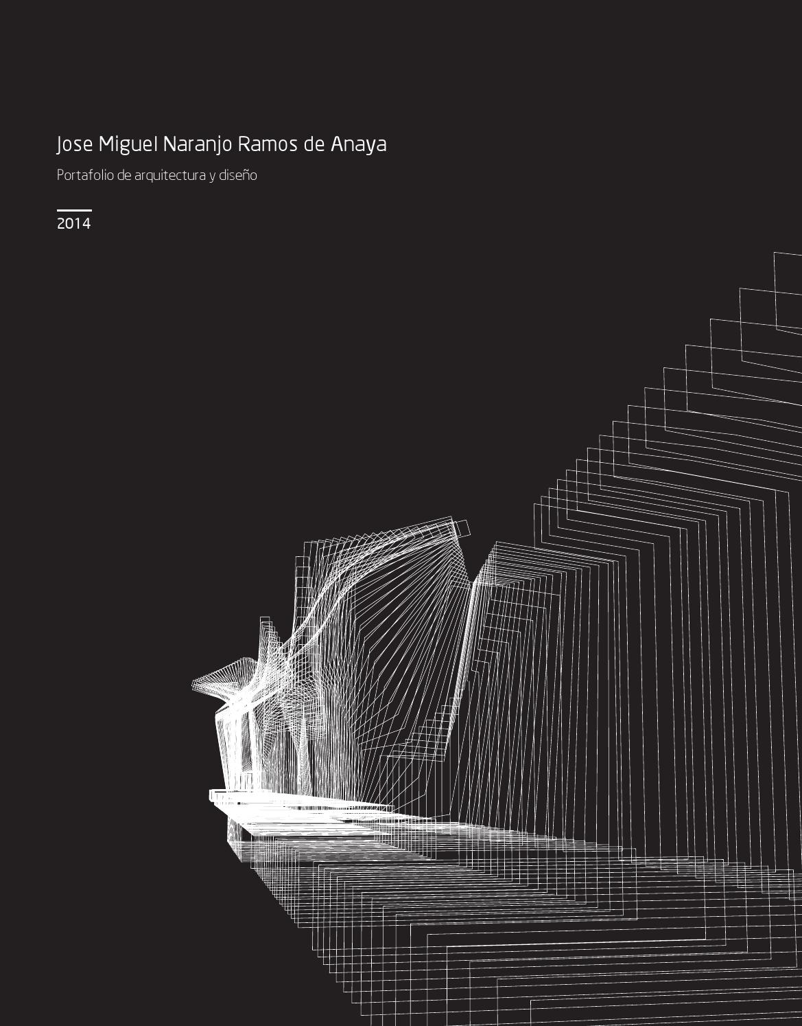 Portafolio arquitectura y dise o by jose m naranjo ramos - Arquitectura de diseno ...