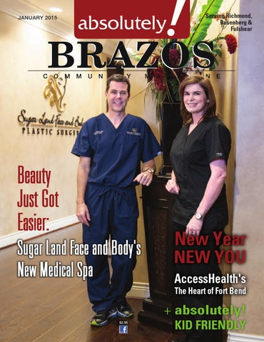 January 2015 - Absolutely Brazos Magazine by absolutely